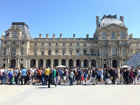 卢浮宫旅游景点攻略图