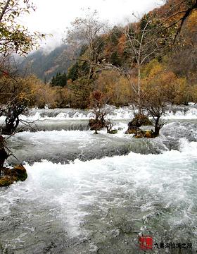 九寨沟风景区旅游景点攻略图