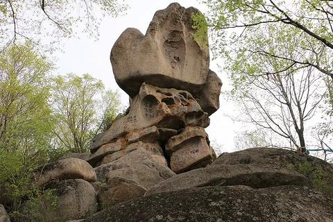 佛手山国家森林公园旅游景点攻略图