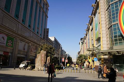 骡马市步行街旅游景点攻略图