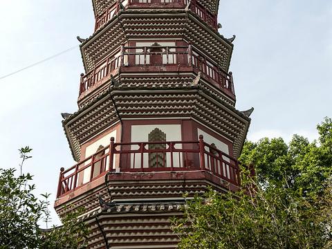 阜峰文塔旅游景点图片