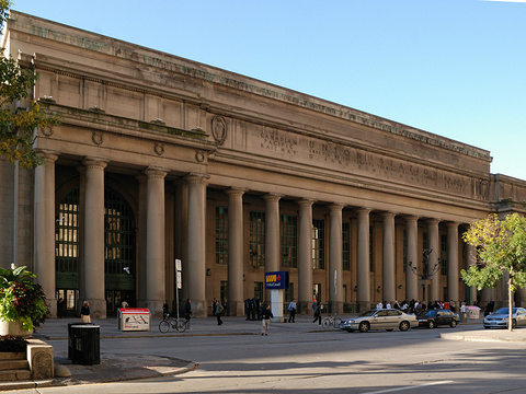 多伦多联合火车站旅游景点图片