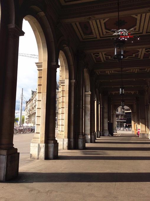 苏黎世街景图片