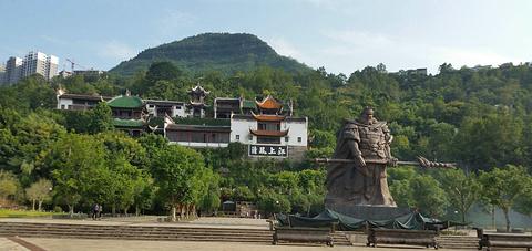 张飞庙旅游景点攻略图