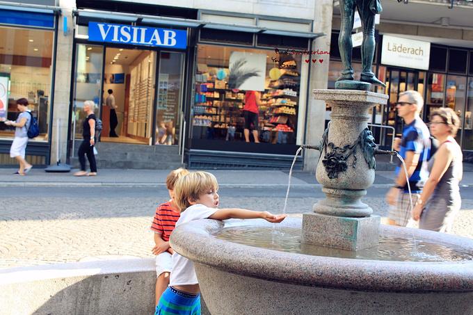 卢塞恩老城区图片