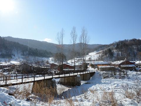 雪乡大雪谷旅游景点图片