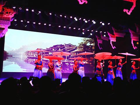 《梦幻沱江篝火晚会》演出旅游景点图片