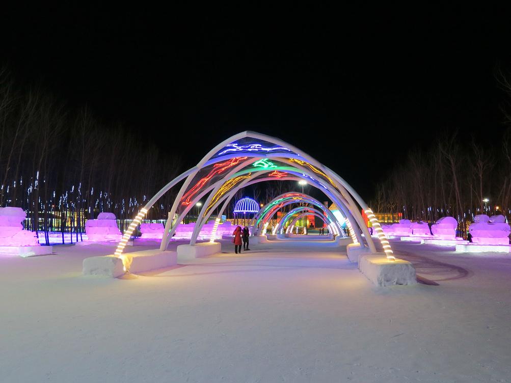 赏雪观冰---冬游哈尔滨