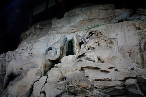 宝顶山石刻旅游景点攻略图