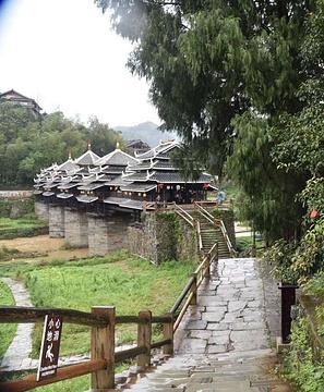 程阳风雨桥旅游景点攻略图