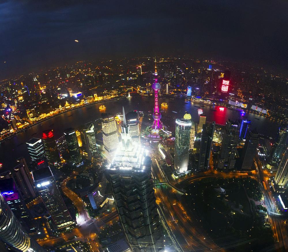 定格最美的上海