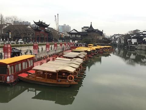 秦淮河旅游景点攻略图