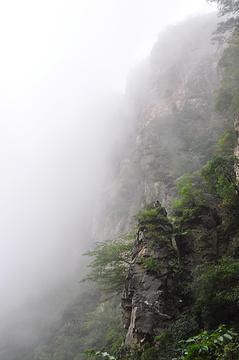 河南跑马岭地质公园旅游景点攻略图