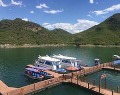 """保定易水湖 北方的""""泸沽湖"""""""