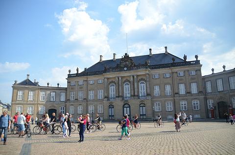 阿美琳堡宫旅游景点攻略图