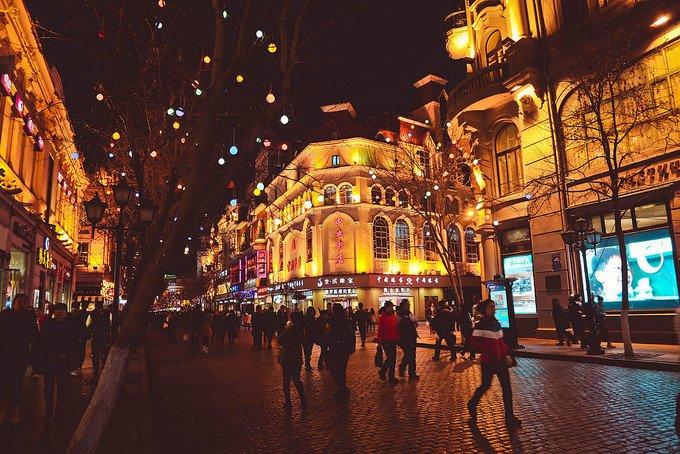 中央大街图片