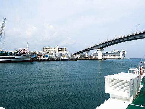 那霸港旅游景点图片