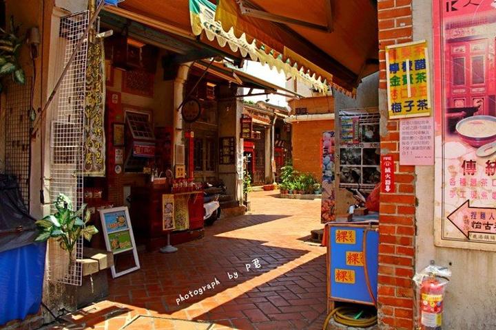 """""""...蚵仔煎,在这里普及一下台湾的蚵仔煎发音,叫做""""ǒ à jiān"""",味道不错酱汁甜甜的很对我胃口_鹿港""""的评论图片"""