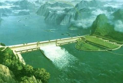 溪洛渡水电站旅游景点攻略图