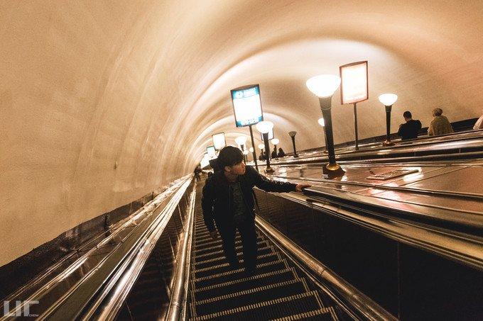 Ploschad Vosstaniya地铁站图片
