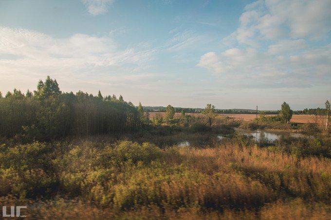 莫斯科--圣彼得堡路途图片