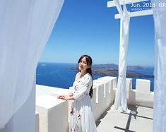 希腊蜜月之旅——清新蓝白童话国度