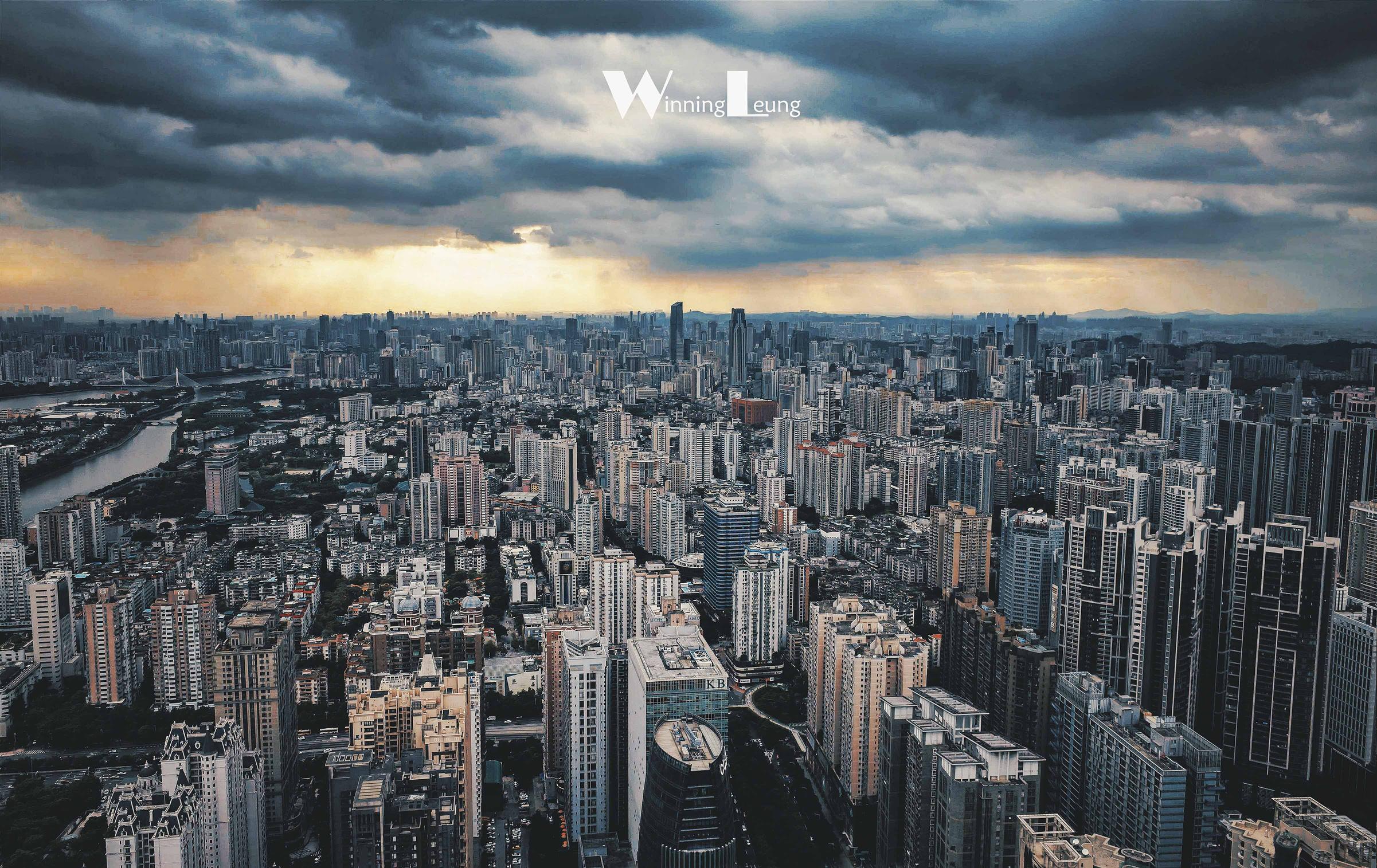 与广州小蛮腰对望,体验住在云端的奢华