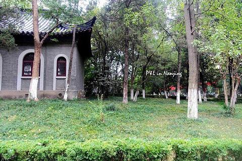 南京大学旅游景点攻略图