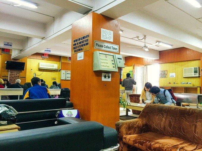新德里火车站图片