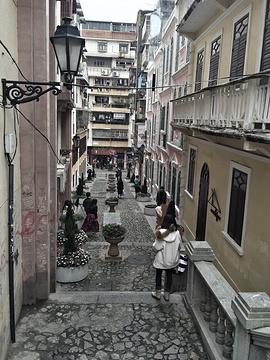 恋爱巷旅游景点攻略图