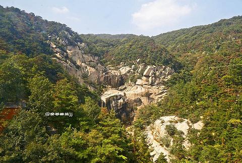 中国瀑布旅游景点攻略图