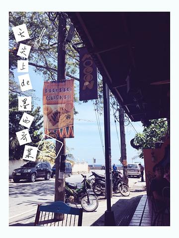 """""""又从酒店坐TUTU车去杜马盖地最大的商场看看,里面还真没啥好看的,就Buko好喝~其他真没有买的_Mooon Cafe""""的评论图片"""