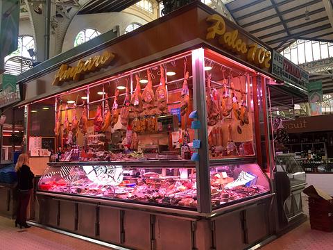 瓦伦西亚中央市场旅游景点攻略图