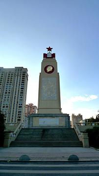 武汉防汛纪念碑旅游景点攻略图