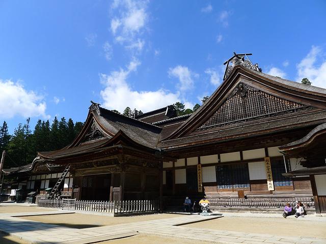 """""""我们想到京都还有很多寺庙于是就没有..._金刚峰寺""""的评论图片"""