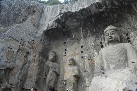 龙门石窟旅游景点攻略图