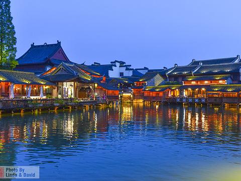 水上集市旅游景点图片
