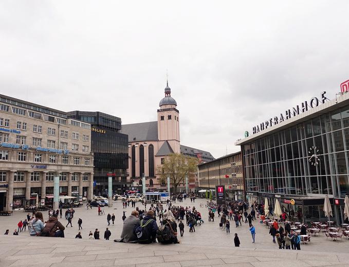 科隆火车站 图片