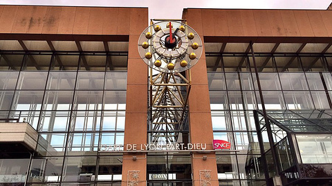 巴黎里昂火车站旅游景点攻略图