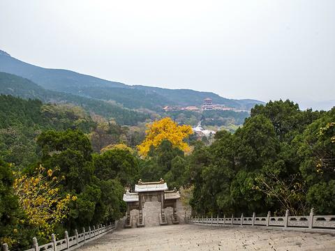 五峰山旅游景点图片
