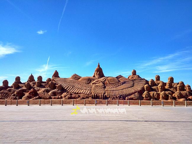 胡杨林八道桥图片