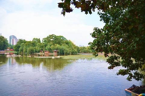 翠湖公园旅游景点攻略图