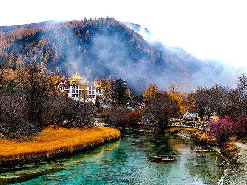 冲古寺旅游景点图片