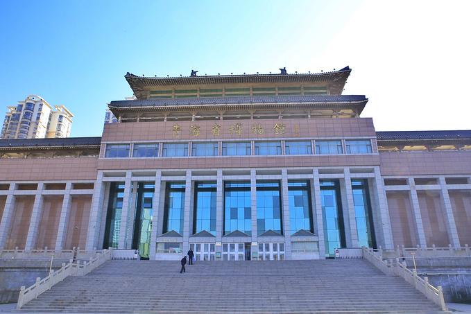 青海省博物馆图片