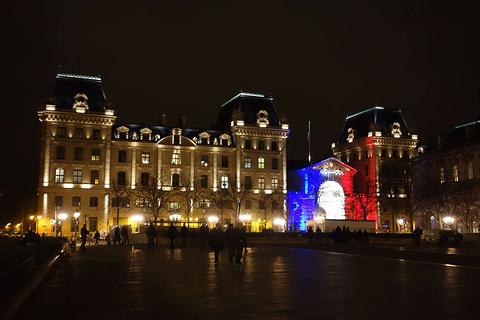 巴黎高等司法官旅游景点攻略图