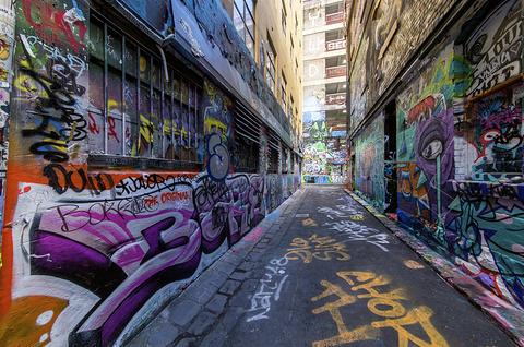 涂鸦街(霍西尔巷)