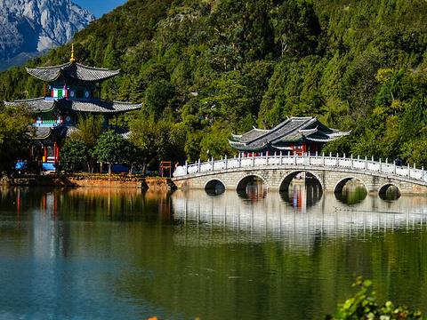 黑龙潭公园旅游景点图片