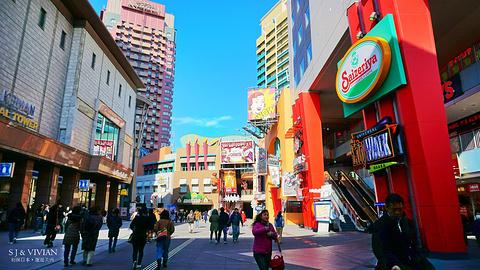 日本环球影城旅游景点攻略图