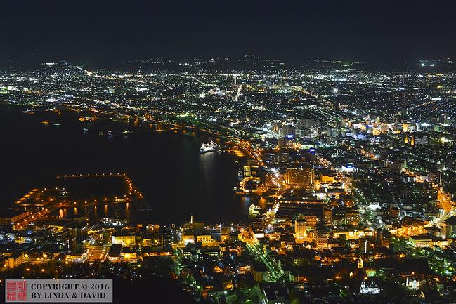 函馆山图片