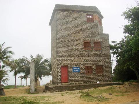 滘尾角灯塔旅游景点图片